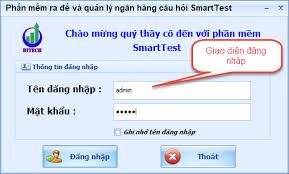 Phần mềm ra đề và quản lý ngân hàng câu hỏi Smarttest